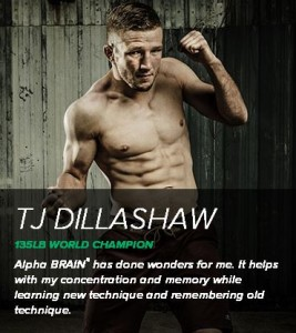 Alpha Brain Testimonials TJ Dillashaw