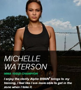 Alpha Brain Testimonials: Michelle Waterson